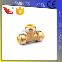 LB GUTEN TOP Free Samples Lead Free cUPC NSF quality approved Red Tee Pipe Fitting