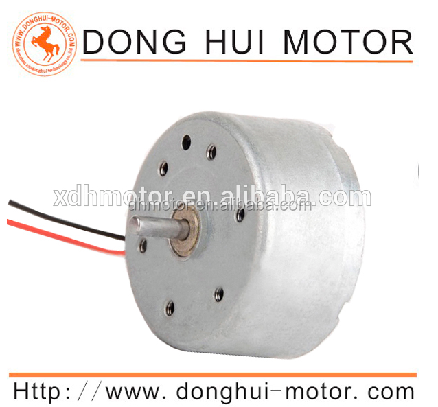 3v mini Low Speed Permanent Magnet Dc Motor for Water Dancing Speakers
