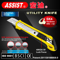cutting knife office tools with 18mm snap off blade durable sharp mouth easy cutter utility knife