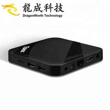 android 7.1 tv box for YouTube videos with tx3 max 2G 16G digital cable with wireless 2.4G tv box set top box wif