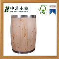 Eco-friendly China manufacturers candy wooden barrels display keg
