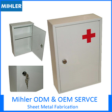 Wholesale hospital furniture, medical box, bedside table SS MS sheet metal process