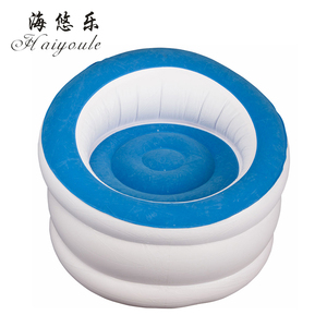 Baby inflatable throne chair, inflatable sofa chair