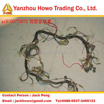 Sinotruk Howo truck cab wiring harness AZ9100773072_350x350 alibaba manufacturer directory suppliers, manufacturers wiring harness manufacturers directory at panicattacktreatment.co