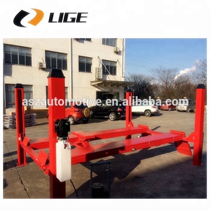 Mobile 4 post car lift DS-FS40