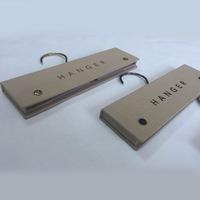 Fashion Cardboard Hanger Clip Header Textile