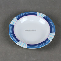 Factory processing custom round melamine soup plate