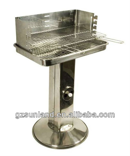 Stainless Steel BBQ Grill Barbecues Grills , Outdoor Kitchen Appliances, 49cm Cooking Area