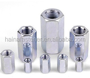stainless steel hex coupling nuts,extra deep connection nuts,long nut
