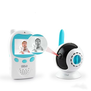 long range wireless walkie video phone digital night vision camera baby monitor