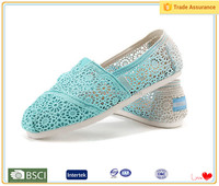 2016 new collection plain color Women casual shoes good quality in germany