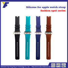 cheap and popular time piece silicone watch strap