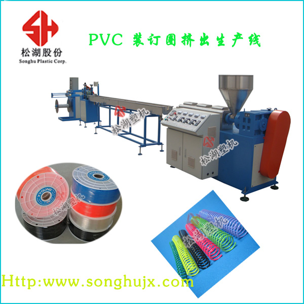 Paper Product Making Machinery Supplies Plastic Spiral Coil Binding Wire