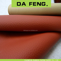 waterproof flame retardant pvc sponge leather for car seat cover used