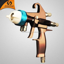LVMP Spray gun new design with highly efficiency chrome plating electric airless paint sprayer