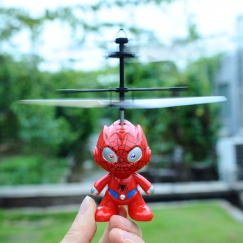 New Hot Kids Popular Funny Colorful LED Magic Helicopter Toy Flash Flying Ball Infrared Induction Helicopter Toy