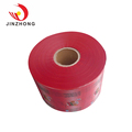 Custom Design Resealable Food Packing Plastic Rolls Opp Transparent Lamination Stretch Film