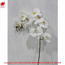 artificial wedding flower artificial orchid white preserved flower