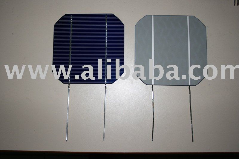 Solar cells with tab ribbon