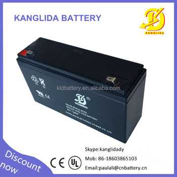 6v 12ah storage lead acid battery for LED light