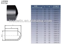 HDPE Pipe Fittings End Cap with High Quality