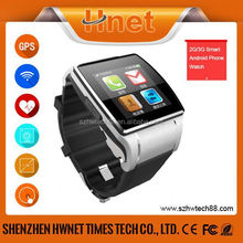 2015 watch Phone/mobile Bluetooth Wifi Touch Screen Android Smart Watch smart Watch for Android 4.2 OS