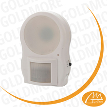 Goldmore2 Battery Powered Plastic PIR 3LED motion sensor night lamp led sensor lights