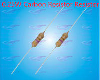 YXS 100 Ohm 1/4W Carbon Film Resistor, precision error 5%, color-ring, 100pcs/lot