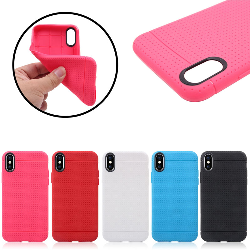 2017 HOT design Net Pattern Soft tpu Case for iPhone X ,For iPhone X Case