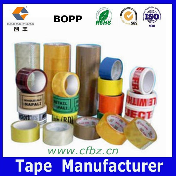 BOPP Material and Acrylic Glue,one side Adhesive Opp tape