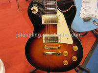 LP style electric guitar with golden parts (LCFLP-80F)