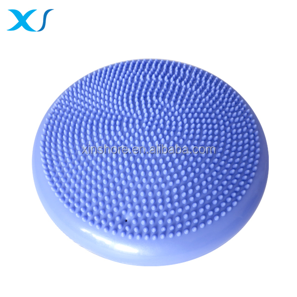 PVC Inflatable Massage Balance Seat Cushion, Balance Disc