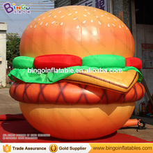 Stand type 10ft inflatable hamburger balloon for sale