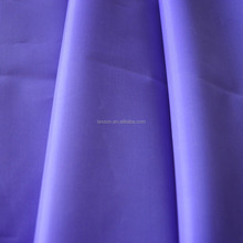 waterproof raincoat fabric polyester 190T with PVC coating