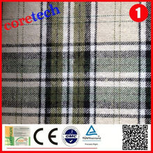 High quality wholesale check cotton yarn dyed fabric factory