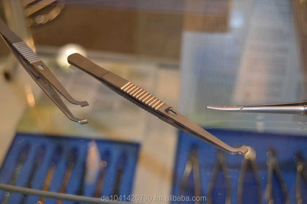 Implantology Tweezer in Titanium