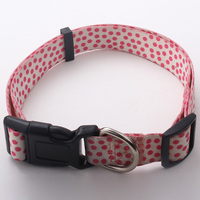 Wholesale Colorful Pet Collars Sublimation Dog Collars