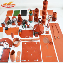 Customized All shapes silicone rubber <strong>heater</strong>