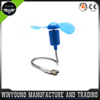 High Brightness Capacity Usb Fan With Text