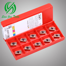 CNC coating Carbide Milling Inserts Tungaloy SNMG120408-TM T9125 free shipping