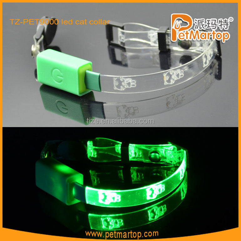 hot new products for 2015 TZ-PET9000 cat collar transparrent wholesale pet supplies