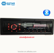 Single din Car MP3 Radio Player with AUX Input and Remote Control