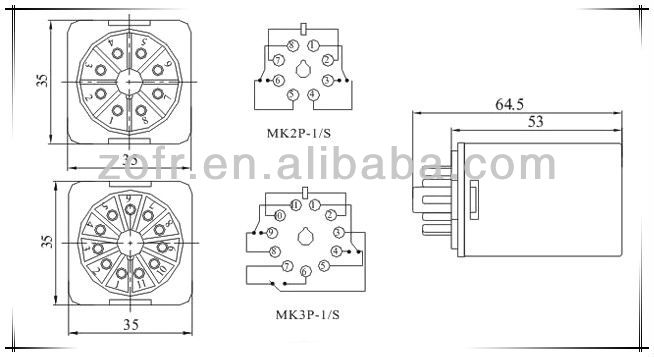 zofr relay price liushi relay supplier mk3p relay 11pin 220v  view relay price  zofr product