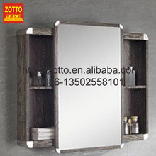 Chinese manufacturers design single mirror antique bathroom vanity with high quality