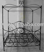 Wrought Iron Four Poster Bed Frames