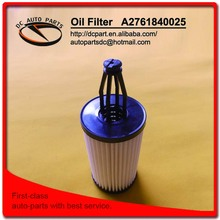 oil filter for A2761840025 BENZ