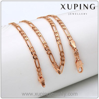 Newest Design Xuping Fashion 18k gold chain necklace Jewelry Men's Necklaces