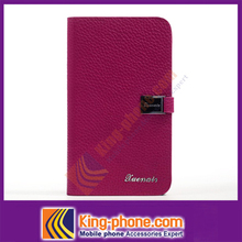 Wholesale custom cell phone case, card holder flip back cover for Samsung N7100