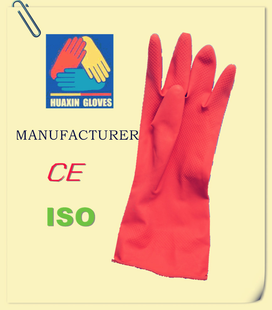 Heavy CE EN388 Duty Industrial Cheap Working Nitrile Safety Gloves