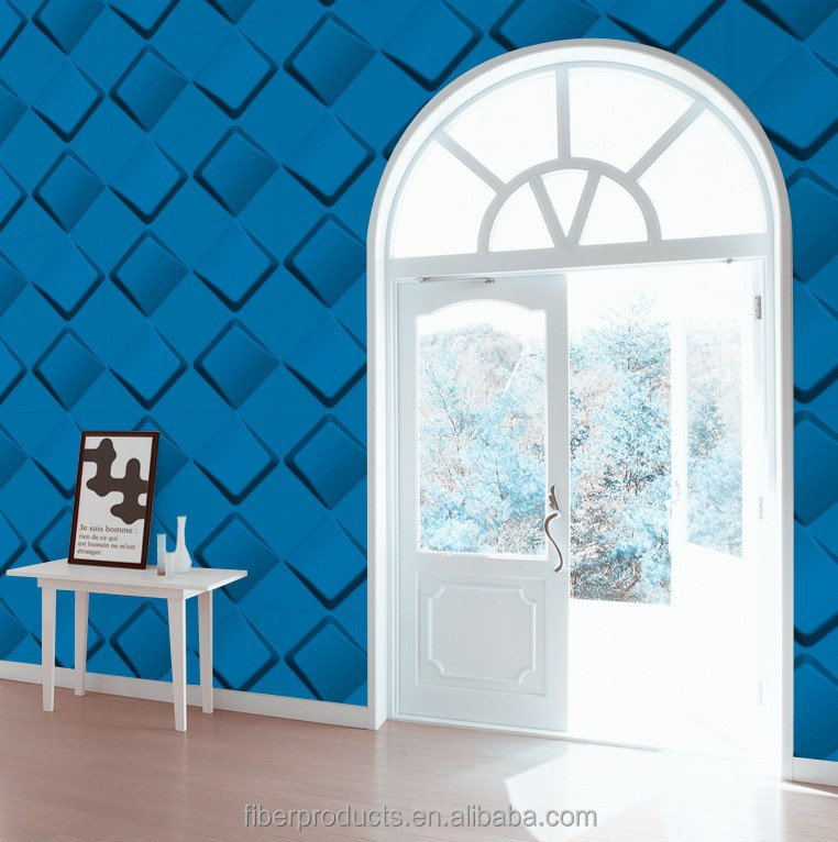 European style decorative embossed 3d wall paper